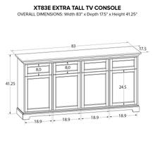 XT83E Extra Tall Custom TV Console