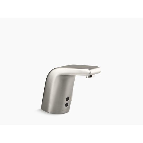 Vibrant Stainless Touchless Faucet With Insight Technology and Temperature Mixer, Ac-powered