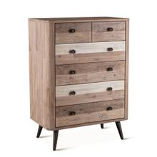 """Boardwalk 32"""" Wide Tall Chest Natural"""
