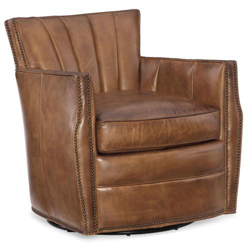 Living Room Carson Swivel Club Chair