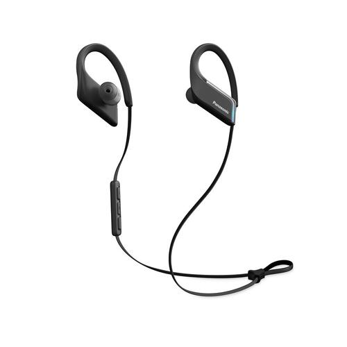 WINGS Headphones, Ultra-Light, Sports, Clip Around Ear, Bluetooth Wireless - RP-BTS55-K - Black