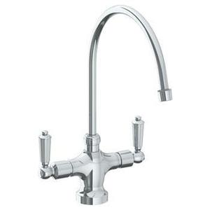 """Deck Mounted 1 Hole Kitchen Faucet With 9 3/4"""" Spout Product Image"""