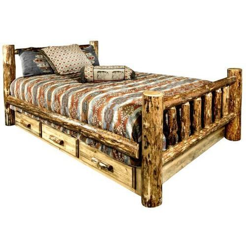Glacier Country Collection Beds with Storage