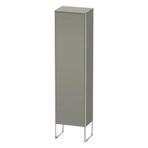 Duravit - Tall Cabinet Floorstanding, Stone Gray Satin Matte (lacquer)