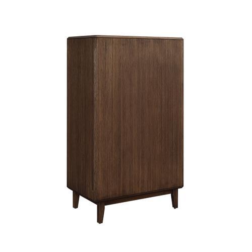 Greenington Fine Bamboo Furniture - Currant Five Drawer High Chest, Oiled Walnut