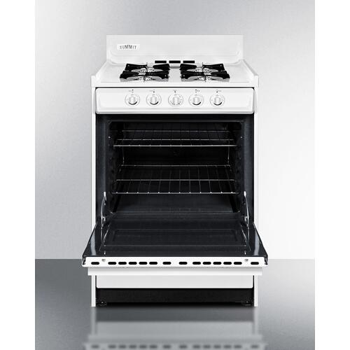 "24"" Wide Gas Range"