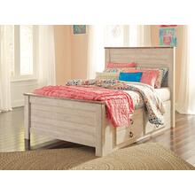 Willowton - Whitewash 4 Piece Bed (Full)