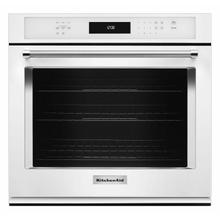 """View Product - 30"""" Single Wall Oven with Even-Heat™ True Convection - White"""