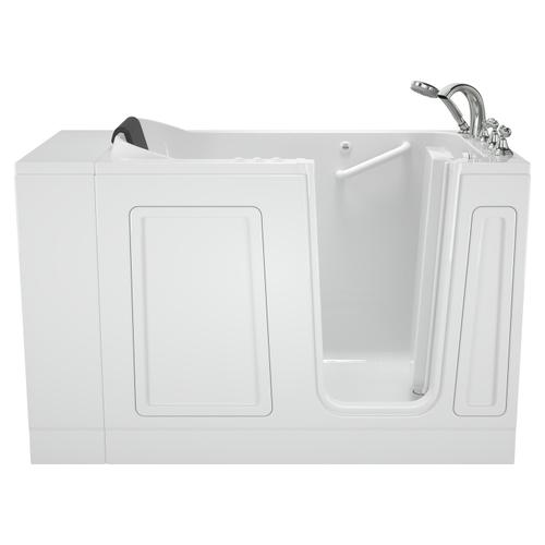 Acrylic Luxury Series Walk-in Tub with Combination Massage Left Drain  American Standard - White