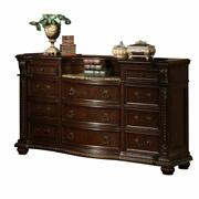 ACME Anondale Dresser w/Marble Top - 10315 - Cherry Product Image