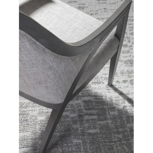Appellation Upholstered Arm Chair With Shaped Back