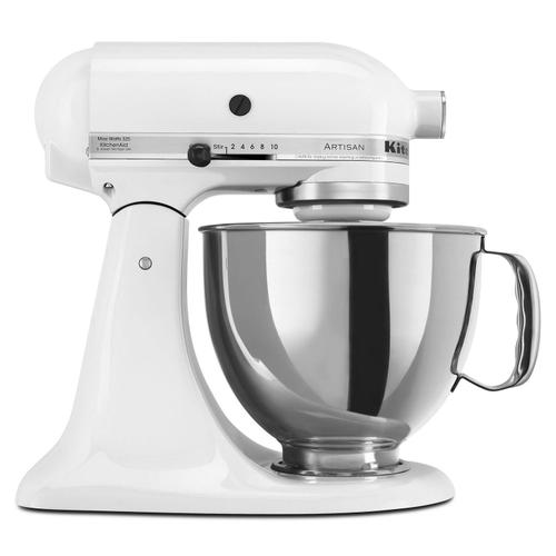 Artisan® Series 5 Quart Tilt-Head Stand Mixer White