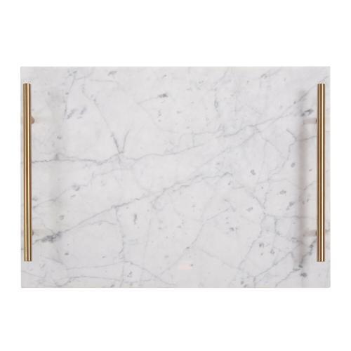Howard Elliott - White Marble Tray