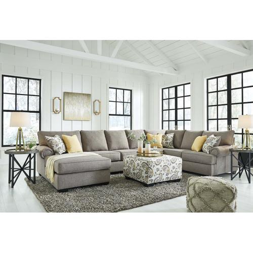 Renchen 2 Pc. Sectional Pewter