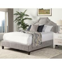 CASEY - SHIMMER Upholstered Bed Collection (Grey)
