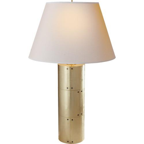 Product Image - Alexa Hampton Yul 30 inch 60 watt Natural Brass Decorative Table Lamp Portable Light