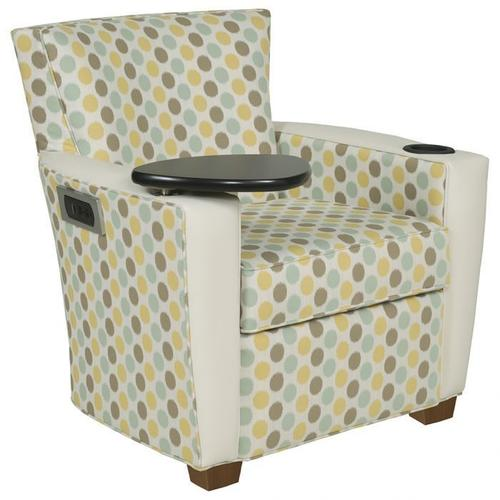 Fairfield - Payton Lounge Chair with Tablet, Charging Station, Cupholder