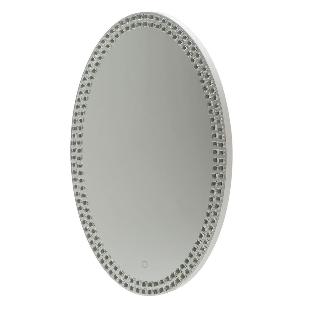 See Details - Oval Wall Mirror 8890
