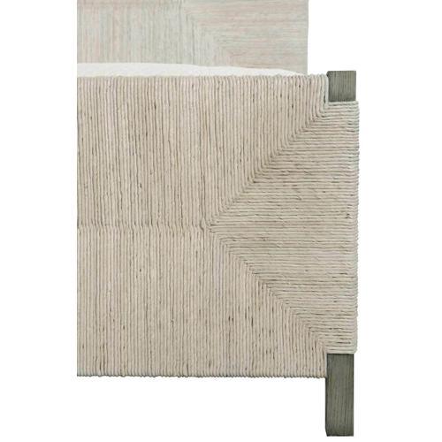 Bernhardt Interiors - Queen-Sized Alannis Woven Panel Bed in Rustic Gray
