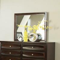Jaxson Transitional Cappuccino Dresser Mirror Product Image