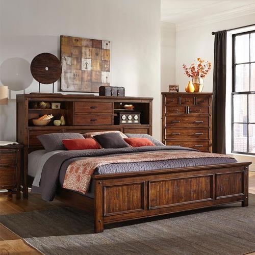 Intercon Furniture - Wolf Creek Bookcase Bed
