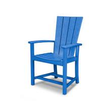 View Product - Quattro Adirondack Dining Chair in Pacific Blue