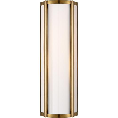 Alexa Hampton Basil 1 Light 6 inch Natural Brass Bath Wall Light