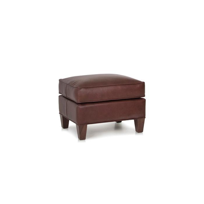 933-40 Leather Ottoman