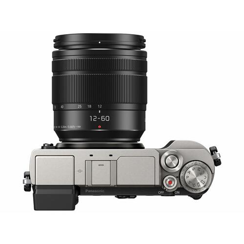LUMIX GX9 Mirrorless Camera Body, 20.3 Megapixels, In-Body Image Stabilizer, plus 12-60mm F3.5-5.6 Kit Lens - DC-GX9MS
