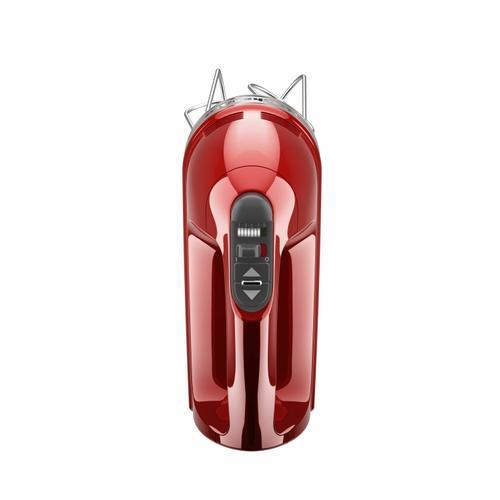 KitchenAid - 9-Speed Hand Mixer - Candy Apple Red