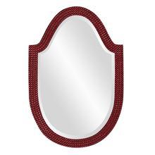 View Product - Lancelot Mirror - Glossy Burgundy