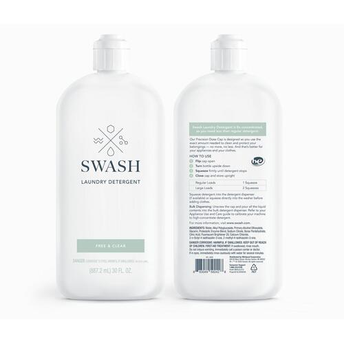 Maytag - SWASH® FREE & CLEAR LAUNDRY DETERGENT