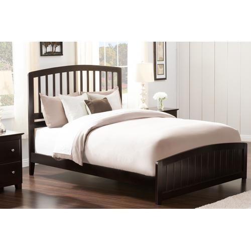 Atlantic Furniture - Richmond Queen Bed with Matching Foot Board in Espresso