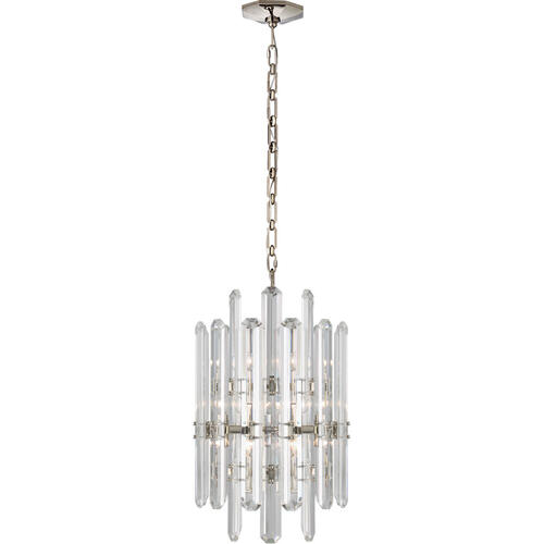 AERIN Bonnington 12 Light 16 inch Polished Nickel Chandelier Ceiling Light, Tall