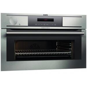 """Gallery - 24"""" built-in stainless steel multi-function compact oven with Soft Power Steam System"""