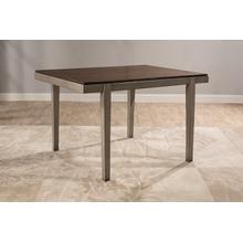 See Details - Garden Park Dining Table - Gray With Dark Espresso (wirebrush)
