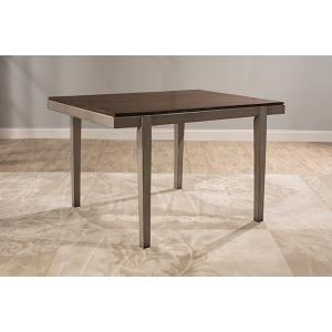 Gallery - Garden Park Dining Table - Gray With Dark Espresso (wirebrush)