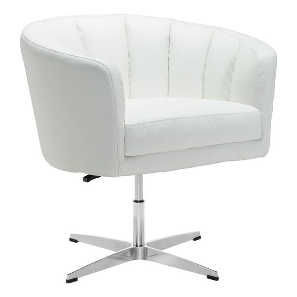 See Details - Wilshire Occasional Chair White
