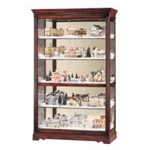 See Details - Howard Miller Townsend Curio Cabinet 680235
