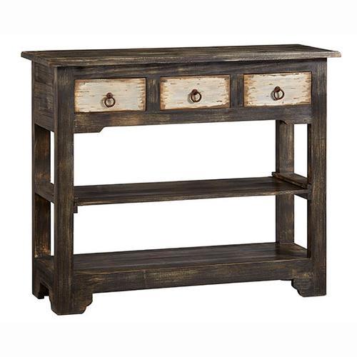 Progressive Furniture - Console - Charcoal Finish