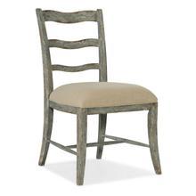 Dining Room Alfresco La Riva Upholstered Seat Side Chair - 2 per carton/price ea