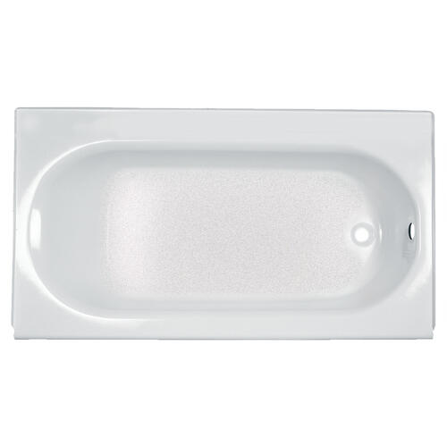 Princeton 60x34 inch Integral Apron Bathtub with Drain and Luxury Ledge  American Standard - Arctic White