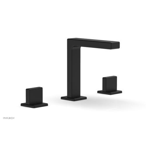 "MIX Widespread Faucet - Blade Handle 6-3/4"" Height 290-01 - Matte Black"