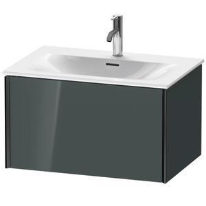 Vanity Unit Wall-mounted, Dolomiti Gray High Gloss (lacquer)