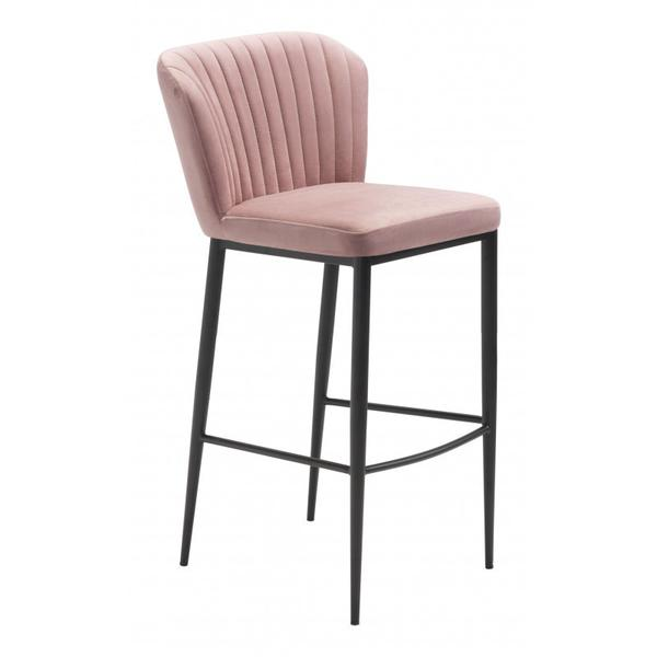Tolivere Bar Chair Pink