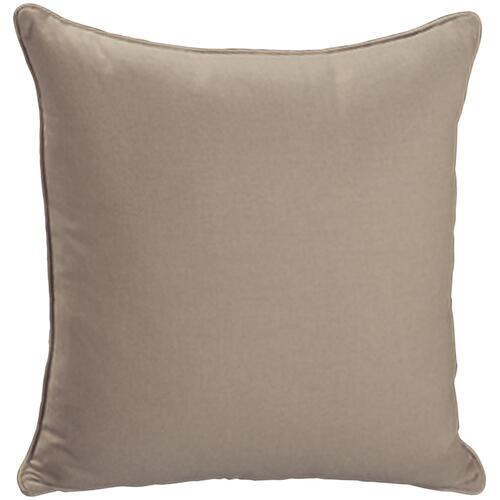 "Bernhardt - Throw Pillows Knife Edge Square w/welt (17"" x 17"")"
