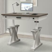 AMERICANA MODERN - COTTON 56 in. Lift Desk Top & Base Cover