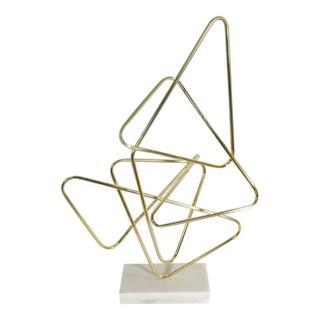 Polygon Table Top Decor Gold