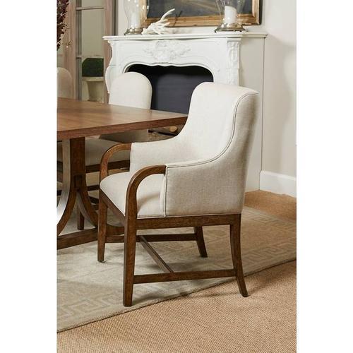 Stanley Furniture - Hillside Arm Chair - Chestnut