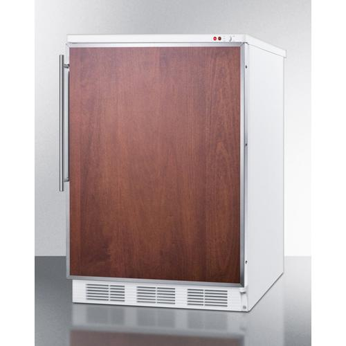 Commercial Built-in Medical All-freezer Capable of -25 C Operation; Stainless Steel Door Frame Accepts Custom Panels